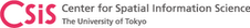 University of Tokyo: Center for Spatial Information Science